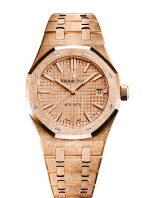 Audemars Piguet Frosted Gold Автоматические #15454OR.GG.1259OR.03 (фото 1)