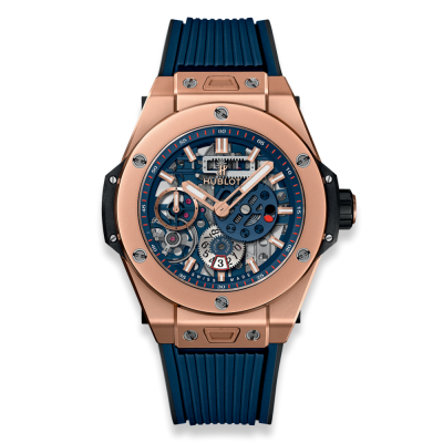 Hublot MECA-10 King Gold Blue 45mm 414.OI.5123.RX (фото 1)