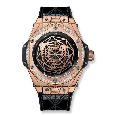 Hublot Sang Bleu King Gold Diamonds 39mm 465.OS.1118.VR.1204.MXM17 (фото 1)