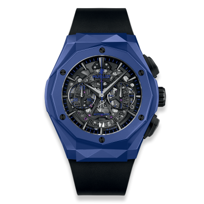 Hublot Aerofusion Chronograph Orlinski Blue Ceramic 45mm 525.EX.0179.RX.ORL18 (фото 1)