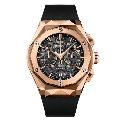 Hublot Aerofusion Chronograph Orlinski King Gold 45mm 525.OX.0180.RX.ORL18 (фото 1)