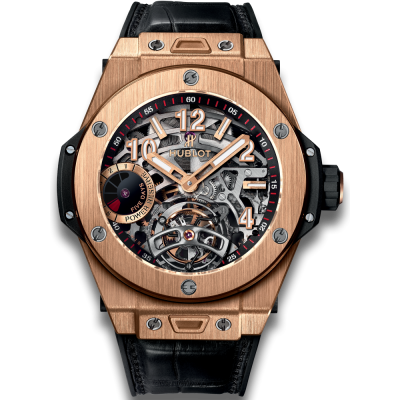 Hublot Tourbillon Power Reserve 5 Days King Gold Titanium 405.OX.0138.LR (фото 1)
