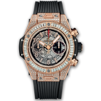 Часы Hublot Unico King Gold Jewellery  45mm 411.OX.1180.RX.0904