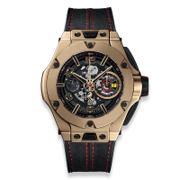 Часы Hublot Ferrari Chronograph Unico Magic Gold 45mm 402.MX.0138.WR