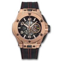 Часы Hublot Ferrari Chronograph Unico King Gold 45mm 402.OX.0138.WR