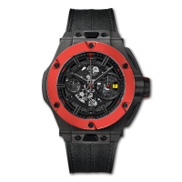 Часы Hublot Ferrari Chronograph Unico Carbon Red Ceramic 45mm 402.QF.0110.WR