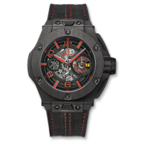 Часы Hublot Ferrari Chronograph Unico Carbon 45mm 402.QU.0113.WR