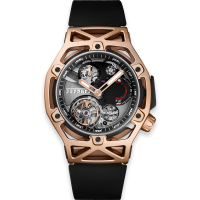 Часы Hublot Techframe Ferrari Tourbillon Chronograph King Gold 45mm 408.OI.0123.RX