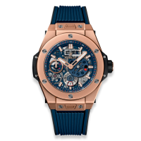 Часы Hublot MECA-10 King Gold Blue 45mm 414.OI.5123.RX