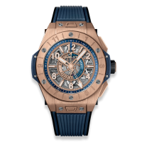 Часы Hublot Unico GMT King Gold 45mm 471.OX.7128.RX