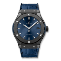 Часы Hublot Ceramic Blue 45mm 511.CM.7170.LR