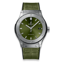 Часы Hublot Green Titanium 45mm 511.NX.8970.LR