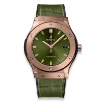 Часы Hublot Green King Gold 45mm 511.OX.8980.LR