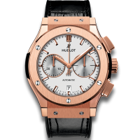 Часы Hublot Chronograph King Gold Opalin 45mm 521.OX.2611.LR