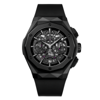 Часы Hublot Aerofusion Chronograph Orlinski All Black 45mm 525.CI.0119.RX.ORL18