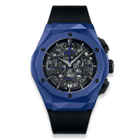 Часы Hublot Aerofusion Chronograph Orlinski Blue Ceramic 45mm 525.EX.0179.RX.ORL18