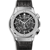 Часы Hublot Aerofusion Titanium Diamonds 45mm 525.NX.0170.LR.1104