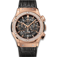 Часы Hublot Aerofusion King Gold Diamonds 45mm 525.OX.0180.LR.1104
