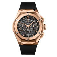 Часы Hublot Aerofusion Chronograph Orlinski King Gold 45mm 525.OX.0180.RX.ORL18