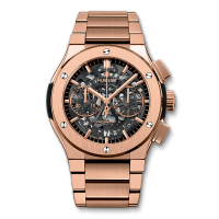 Часы Hublot Aerofusion Chronograph King Gold Bracelet 45mm 528.OX.0180.OX