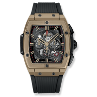 Часы Hublot Spirit Of Full Magic Gold 45mm 601.MX.0138.RX