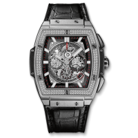 Часы Hublot Spirit Of Titanium Diamonds 601.NX.0173.LR.1104