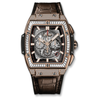 Часы Hublot Spirit Of King Gold Jewellery 601.OX.0183.LR.0904