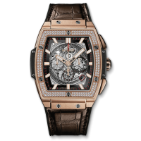 Часы Hublot Spirit Of King Gold Diamonds 601.OX.0183.LR.1104