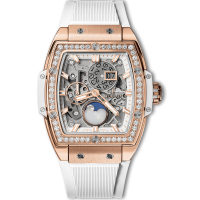 Часы Hublot Spirit Of Moonphase King Gold White Diamonds 42mm 647.OE.2080.RW.1204