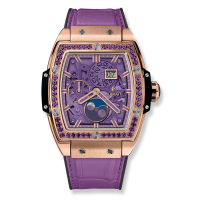 Часы Hublot Spirit Of Moonphase King Gold Purple 42mm 647.OX.4781.LR.1205