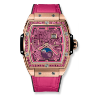Часы Hublot Spirit Of Moonphase King Gold Pink 42mm 647.OX.7381.LR.1233