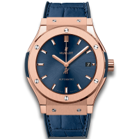 Часы Hublot Blue King Gold 45mm 511.OX.7180.LR