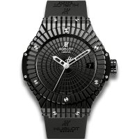 Часы Hublot Black Caviar Black Ceramic automatic 346.CX.1800.RX