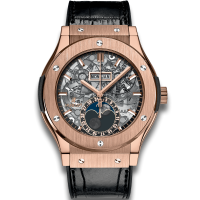 Часы Hublot Aerofusion Moonphase King Gold 517.OX.0180.LR