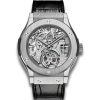 Часы Hublot Tourbillon Cathedral Minute Repeater Titanium 504.NX.0170.LR