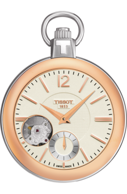 Tissot POCKET MECHANICAL SKELETON T853.405.29.267.01 (фото 1)