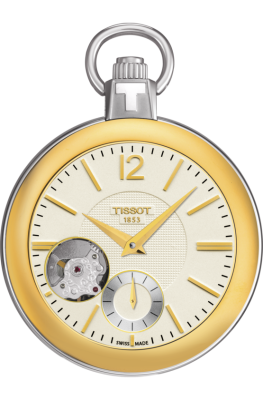 Tissot POCKET MECHANICAL SKELETON T853.405.29.267.00 (фото 1)
