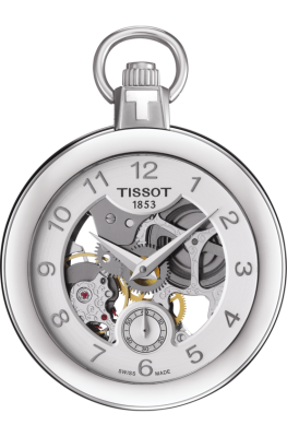 Tissot POCKET MECHANICAL SKELETON T853.405.19.412.00 (фото 1)