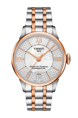 Tissot CHEMIN DES TOURELLES POWERMATIC 80 HELVETIC PRIDE LADY T099.207.22.118.01 (фото 1)