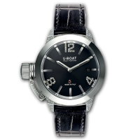 Часы U-BOAT CLASSICO 40 SS WHITE DIAMONDS 6950